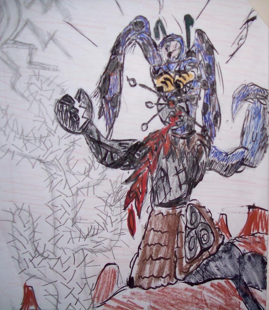 Triclops Robot