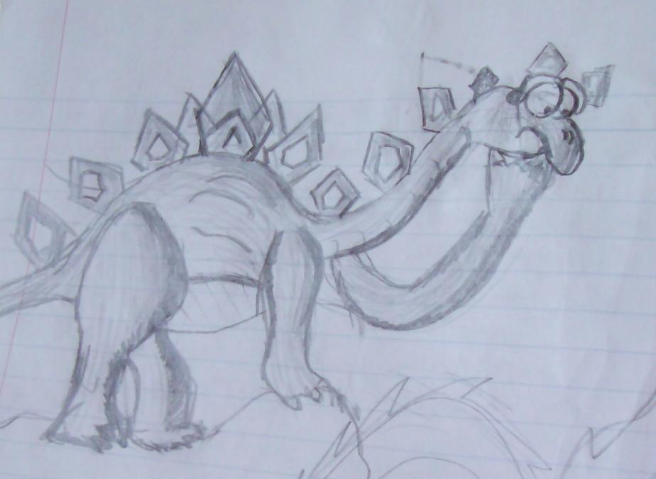 Confused Dinosaur